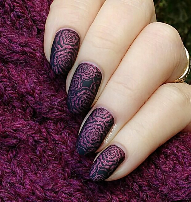 Latest Matte Nail Designs You Will Love 6