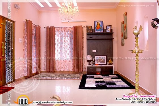 Completed Home With Interior Photos Kerala Home Design And Floor Plans