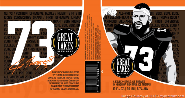 Great Lakes Brewing Co. Announces 73 Kolsch Collaboration with Joe Thomas