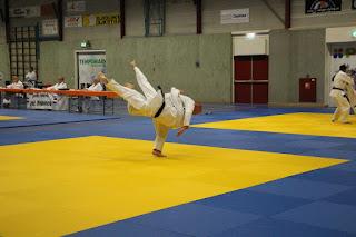 06-06-2015 examen Marc Werkman 1e dan Jiu Jitsu