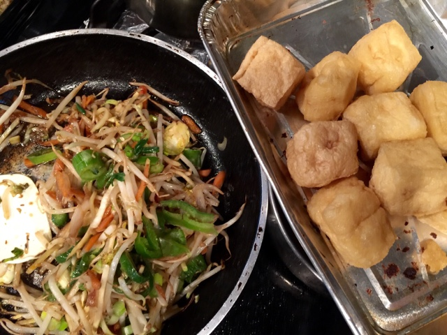 My Purple World Tahu Isi Tofu Fritters With Vegetables Filling