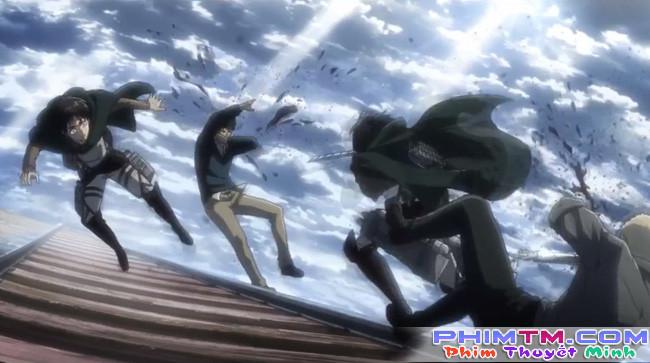 Attack on Titan 2: Hóa thành Titan, Eren vẫn bị hành sấp mặt - Ảnh 3.
