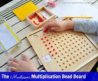 The Montessori Multiplication Board