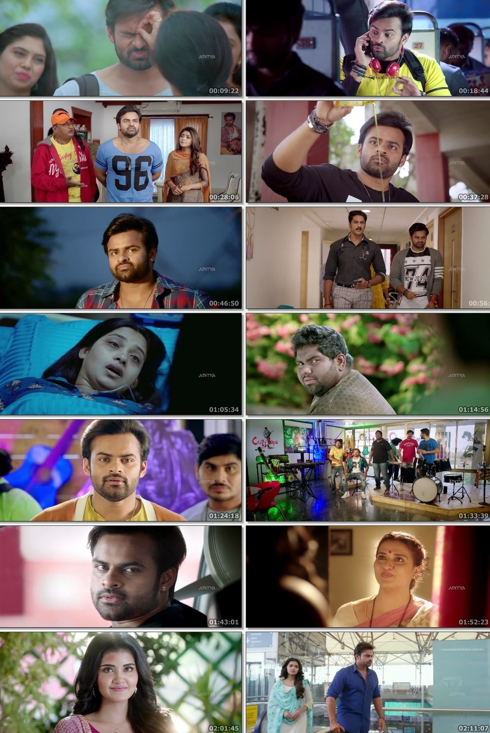 Screen Shot Of Tollywood Movie Tej... I Love You 2018 Full Movie In Hindi Dubbed Free download 720P HD