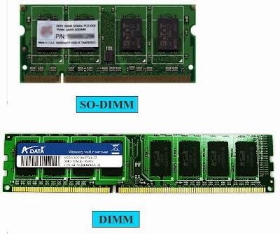 Perbedaan RAM DIMM dan SO-DIMM