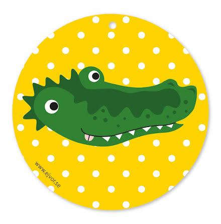 Djurkort Krokodil