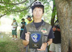 優勝 鈴木達也選手 表彰