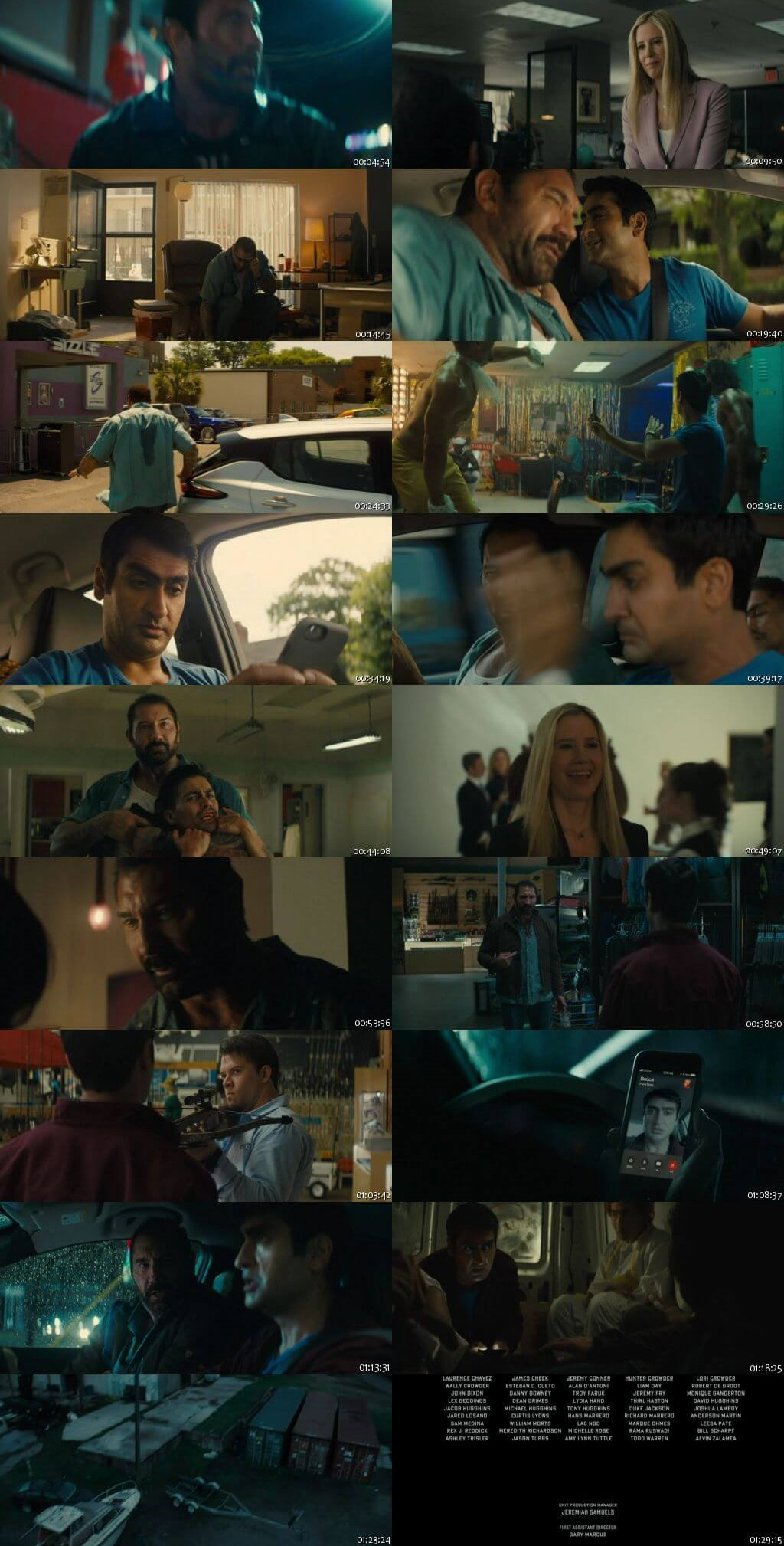 Screen Shot Of Stuber 2019 Full Movie Download Free Watch Online 300MB