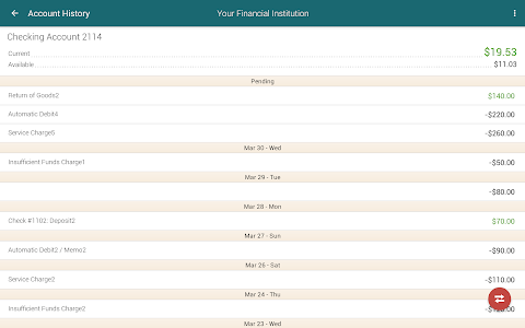 Horizon Mobile Banking screenshot 9