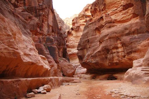 Иордания. Скалы