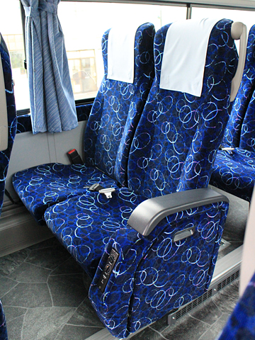 沿岸バス「特急はぼろ号」 ・395 シート