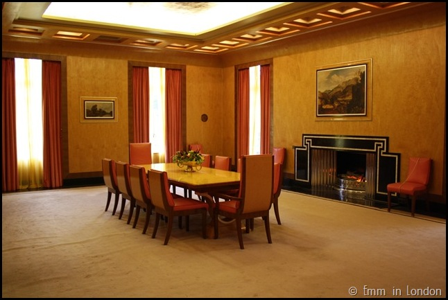 Eltham Palace - The Dining Room