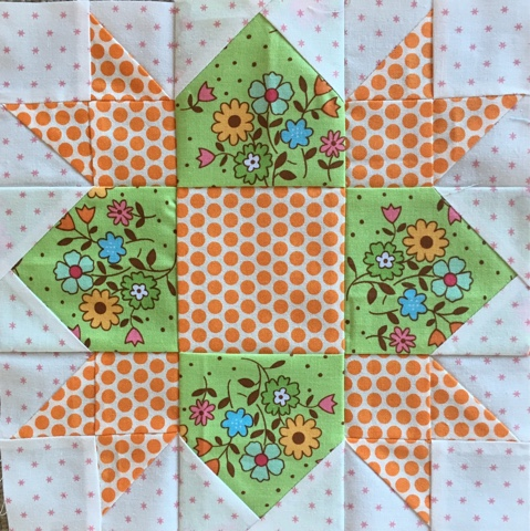Weathervane Quilt Block