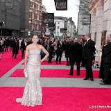 WWW.ENTSIMAGES.COM -   Summer Strallen   at      The Olivier Awards at Royal Opera House, Covent Garden, London, April 28th 2013                                               Photo Mobis Photos/OIC 0203 174 1069