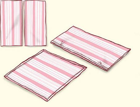 Como hacer cojines portal de manualidades - Como hacer cojines para sillas ...
