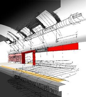 Nueva ventilación y techo para la estación de Recoletos