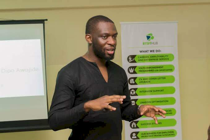 """If a BBNaija winner can get N90m why can't a best graduating student"""" - Lecturer Dipo Awojide"""