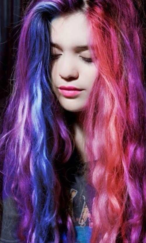 punk rock hairstyles for long hair  fashionre