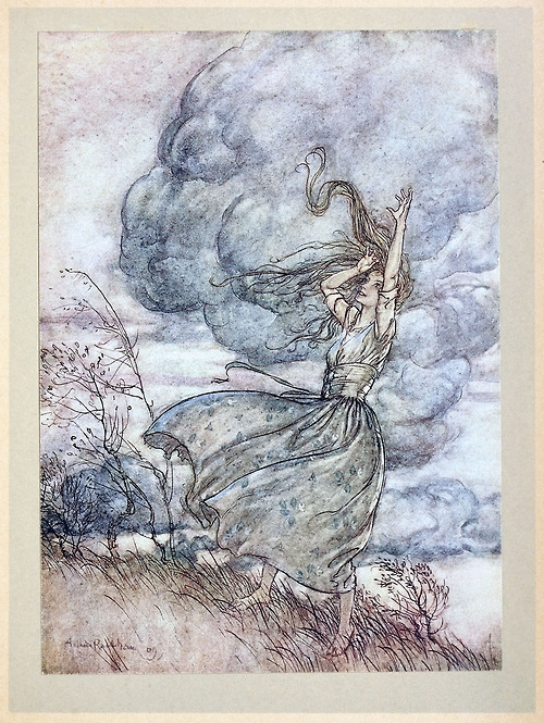 The Undine A Rackham, Undines