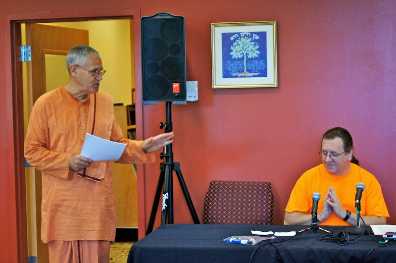 Swami A introduces Jeff Long