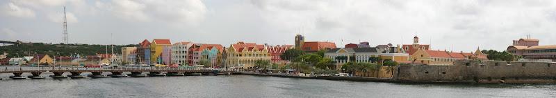 Curaçao waterfront panorama
