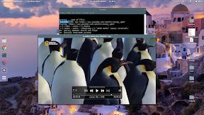 Un reproductor multimedia minimalista y multiplataforma para Ubuntu. Portada.