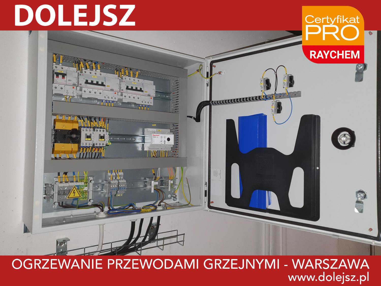 Rozdzielnica elektryczna i sterownik RAYCHEM EMDR-10