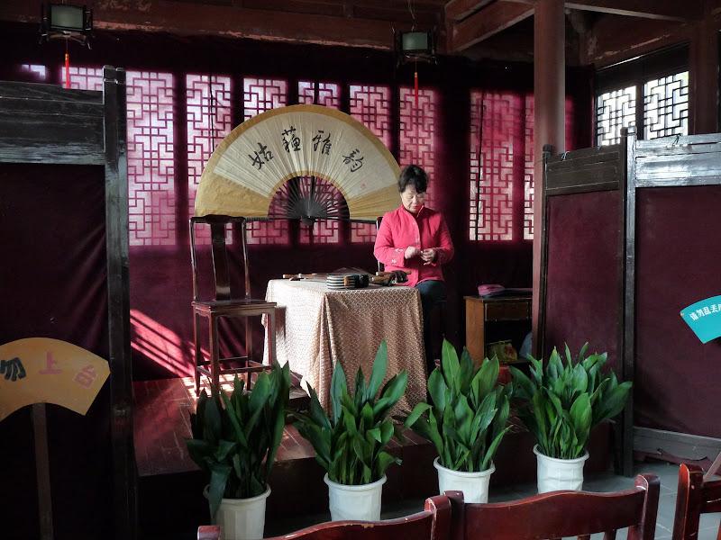 Suzhou.fin de concert...