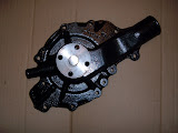 WP-4.. 1957-1958 rebuilt pump and gasket, with heater fitting. 125.00 exchange