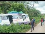 BREAKING NEWS: Bus ATS Pontianak - Mahap Alami Laka Lantas di Wilayah Sejirak Lamau