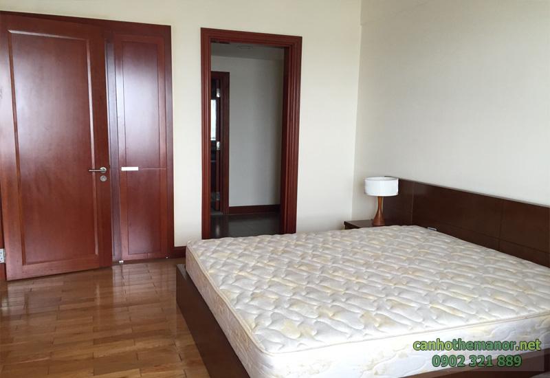 3 phòng ngủ, tầng 25 cho thuê tại căn hộ the manor