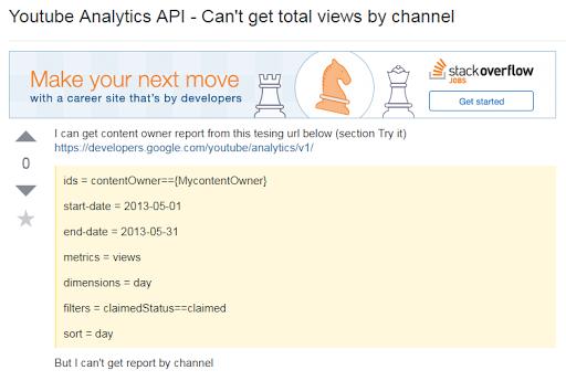 Find Out Error pada Plugin YouTube Analytics Dashboard