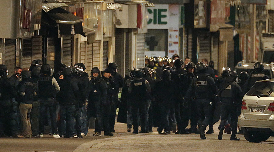 Two dead in Paris raid seeking terror mastermind