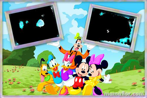 Marco de Fotos de Mickey y sus amigos