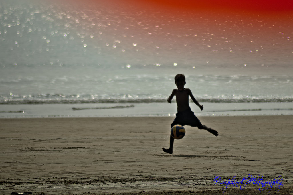 Kick! by Sudipto Sarkar on Visioplanet
