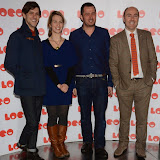 OIC - ENTSIMAGES.COM - Matthew Baynton, Clare Thomson, Jamie Glassman and Cal McCrystal  at the LOCO Superbob UK film Premiere Q and A at BFI London 24th January 2015 Photo Mobis Photos/OIC 0203 174 1069