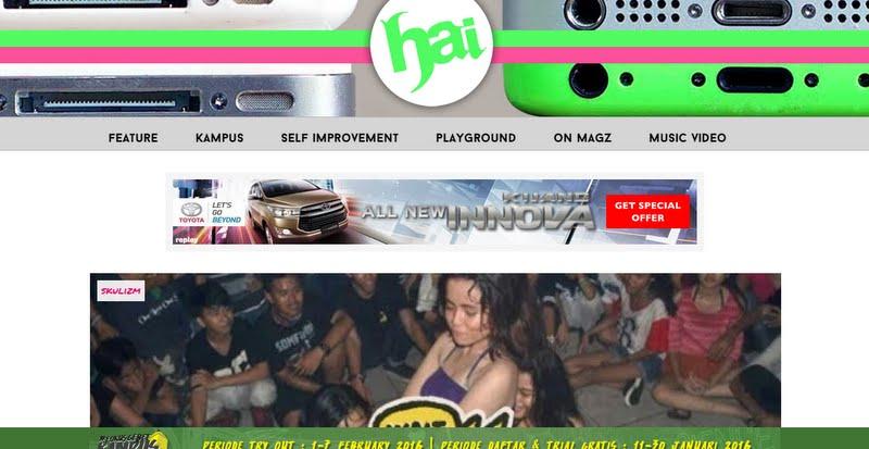 10 Website Anak Muda Indonesia
