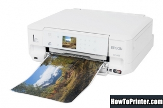Reset Epson XP-605 printer Waste Ink Pads Counter