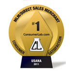 USANA Top Rated Direct Selling Consumer 2011