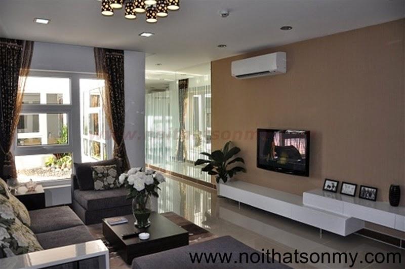 Mẫu thiết kế nội thất căn hộ 387
