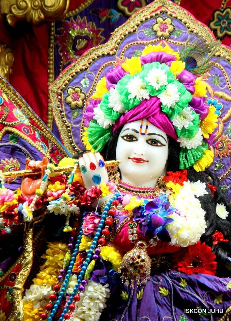 ISKCON Juhu Sringar Deity Darshan 29 Jan 2016 (18)