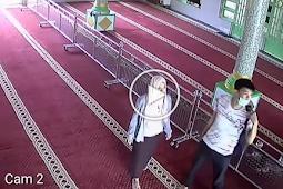 Astaghfirullah, Terekam CCTV Dua Sejoli Lakukan Hal Tak Senonoh Di Masjid - Zaman Sekarang Remaja Semakin Berani
