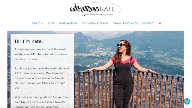 Blog de viajem que ensina mulheres a viajarem o mundo com segurança