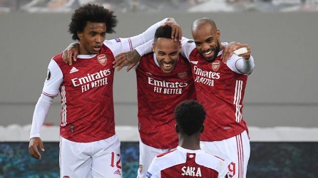 6 Statistik Menarik Kemenangan Arsenal vs Benfica