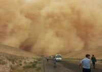Gempa dan ribut di Tanah Syam, Jordan