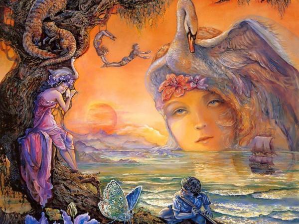 Goddess Of Swans, Goddesses
