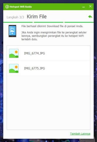 Cara Sharing WiFi Laptop ke HP dengan Baidu WiFi Hotspot