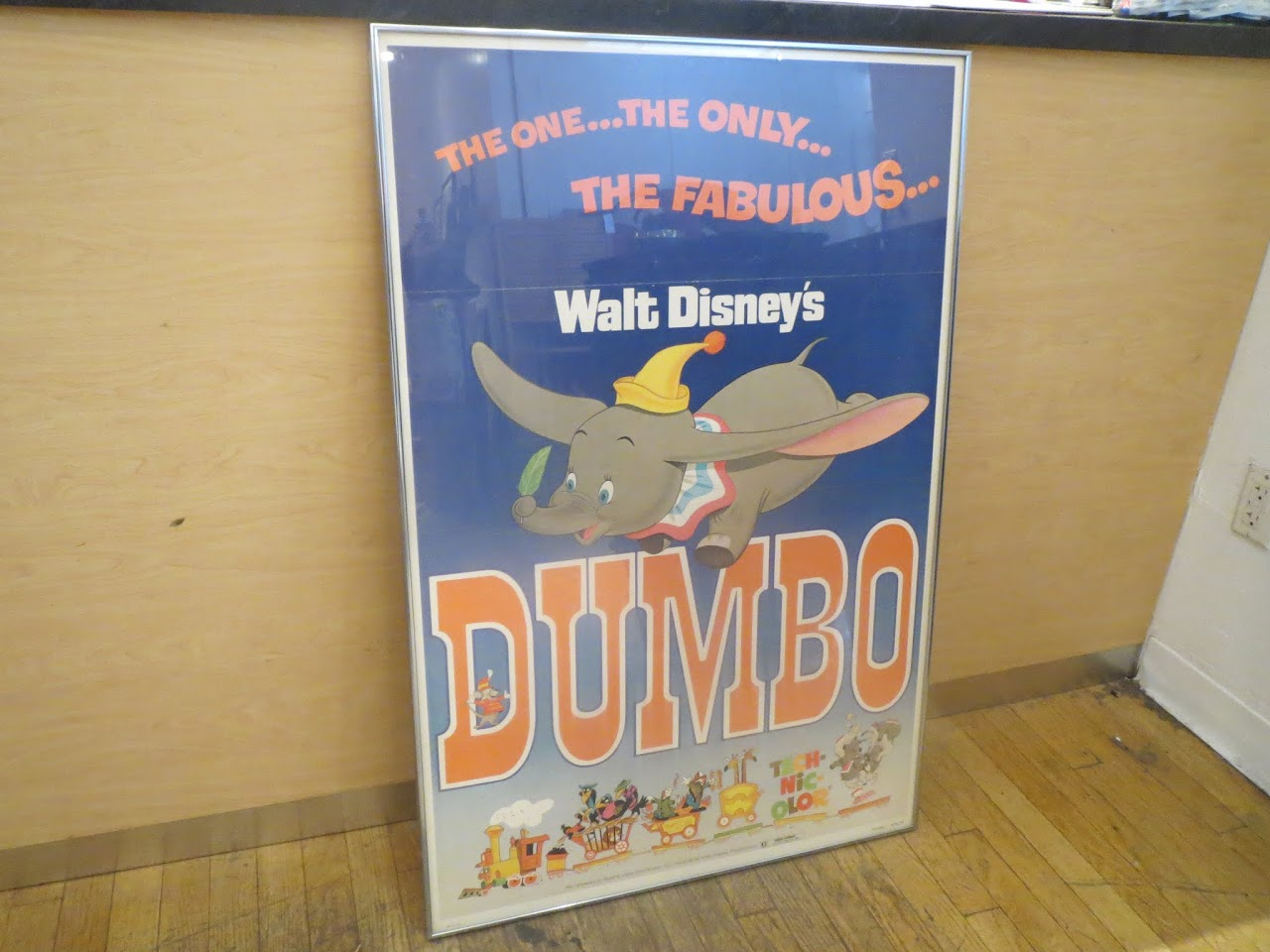 Vintage Dumbo Movie One-Sheet Poster