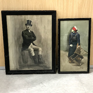 Kathleen Guthrie Signed Painting Pair