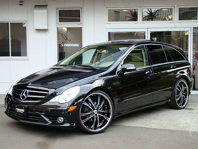 Mercedes benz r500 amg w191 on r24 rims benztuning for Mercedes benz r 500